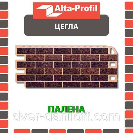 Фасадная панель Альта-Профиль Кирпич 1130х470х20 мм Жженый, фото 2