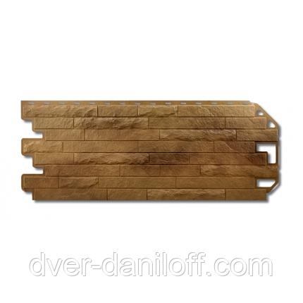 Фасадная панель Альта-Профиль Кирпич-Антик 1170х450х20 мм Рим, фото 2