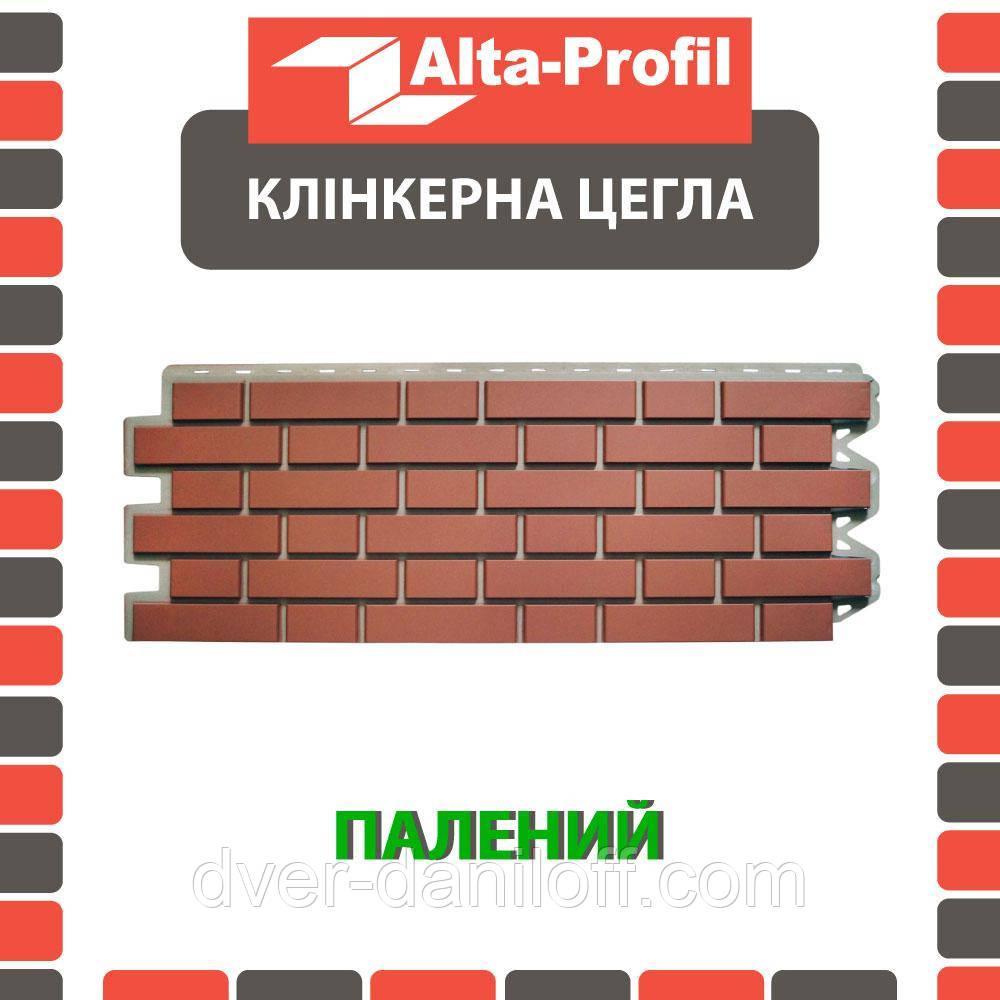 Фасадная панель Альта-Профиль Клинкерный кирпич 1220х440х20 мм Жженый