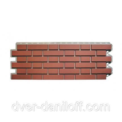 Фасадная панель Альта-Профиль Клинкерный кирпич 1220х440х20 мм Жженый, фото 2