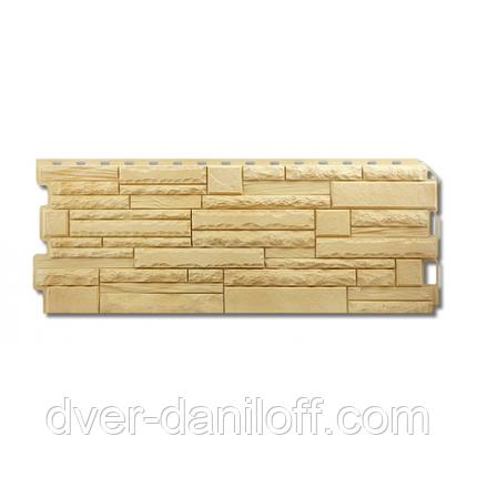 Фасадная панель Альта-Профиль Скалистый камень 1170х450х20 мм Кавказ, фото 2