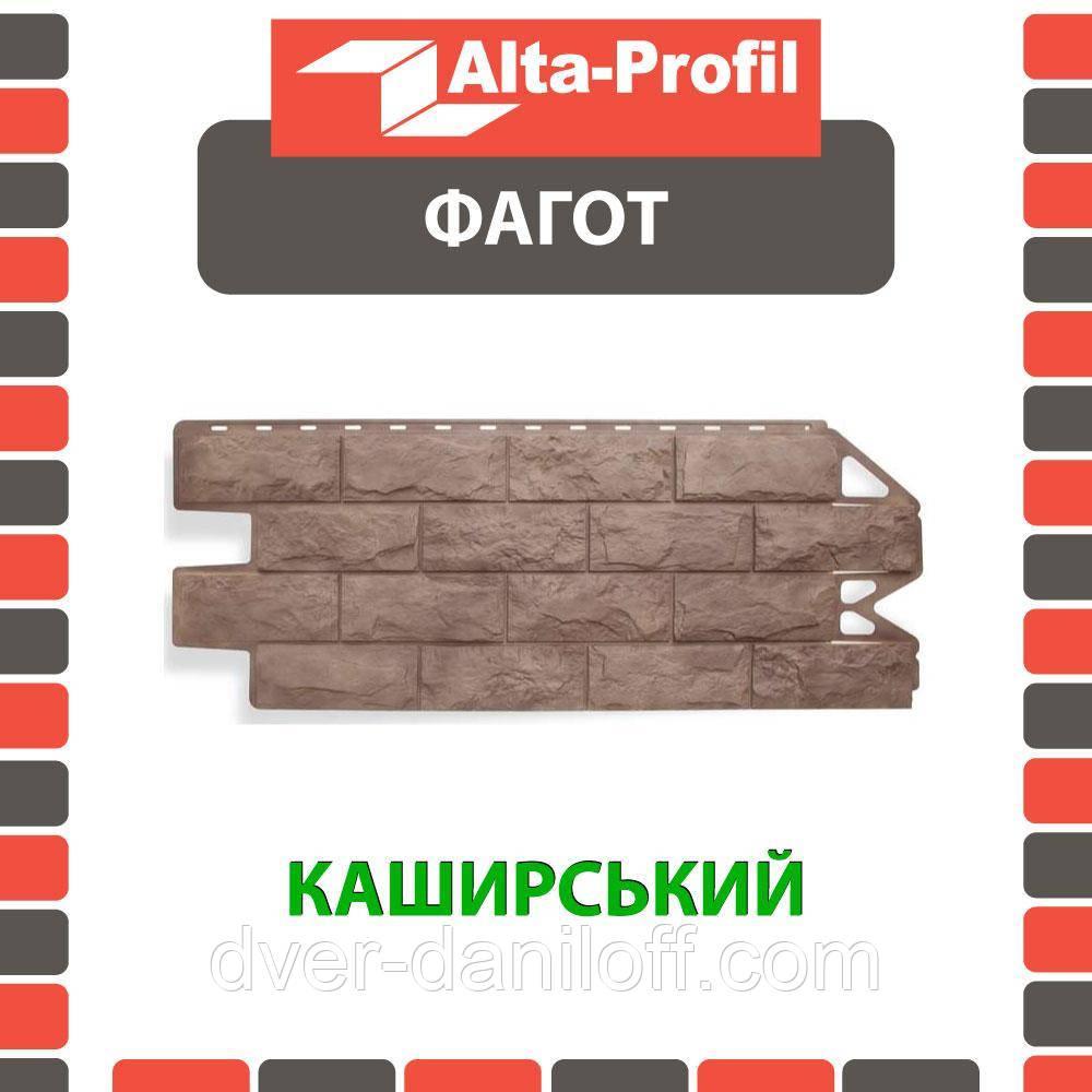 Фасадная панель Альта-Профиль Фагот 1160х450х20 мм Каширский