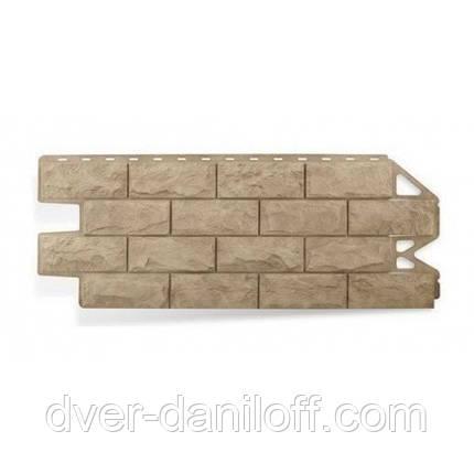 Фасадная панель Альта-Профиль Фагот 1160х450х20 мм Каширский, фото 2
