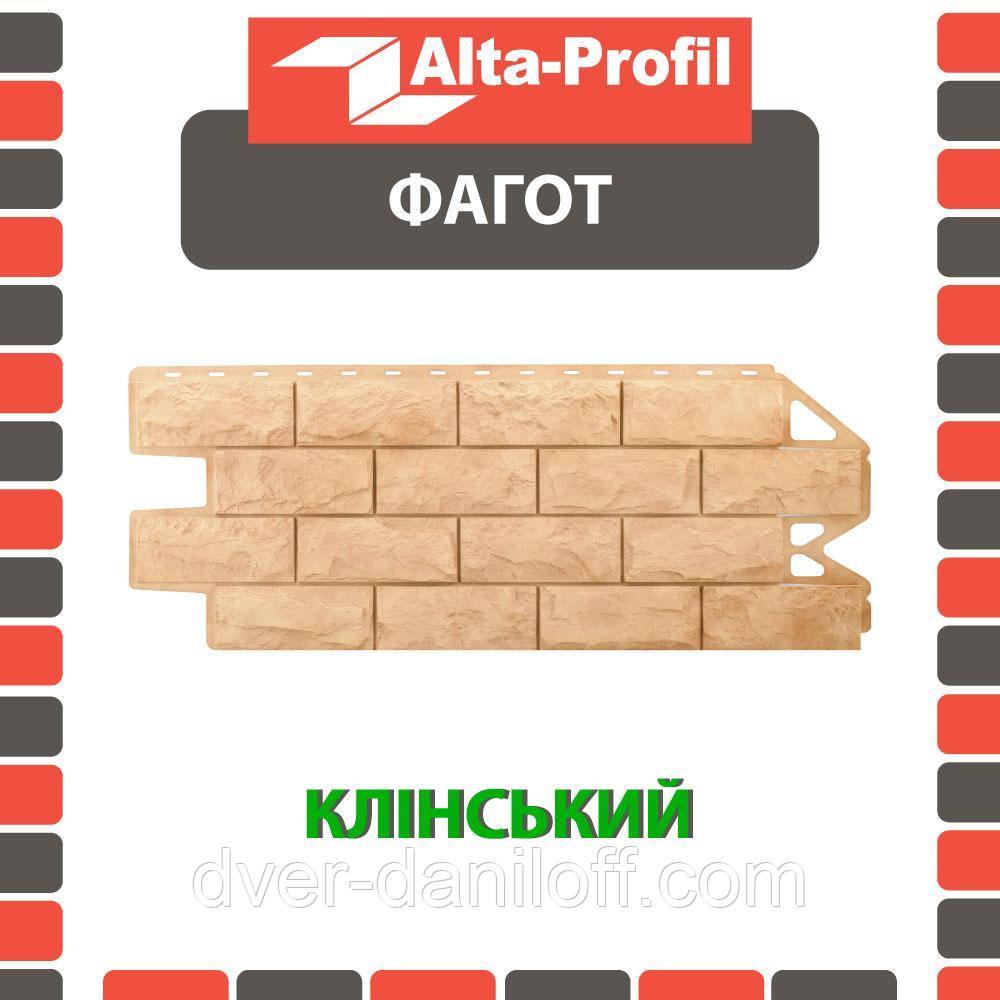 Фасадная панель Альта-Профиль Фагот 1160х450х20 мм Клинский