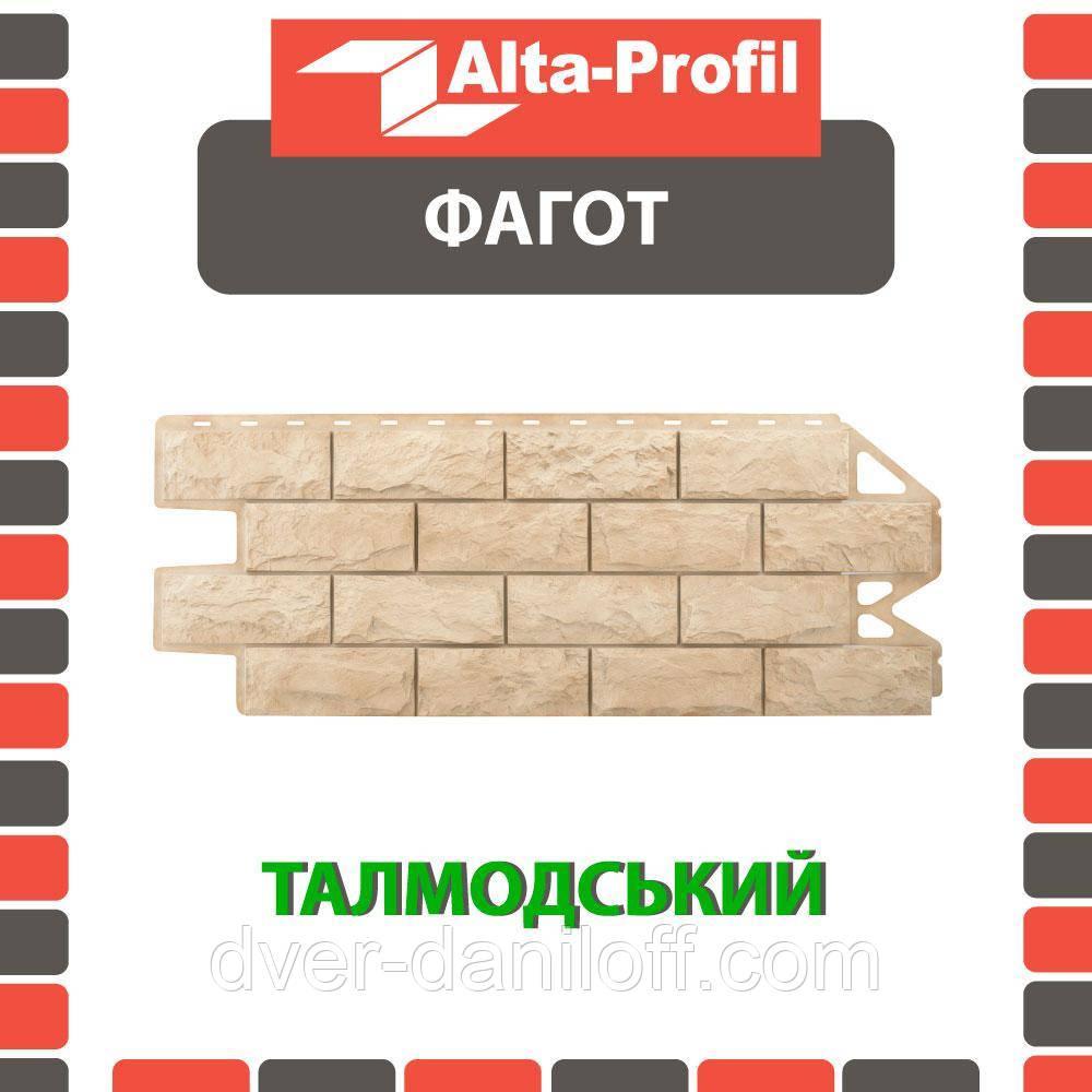Фасадная панель Альта-Профиль Фагот 1160х450х20 мм Талдомский