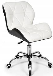 Офисное кресло, Кресло для мастера на колесиках  ЭкоКожа