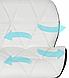Офисное кресло, Кресло для мастера на колесиках  ЭкоКожа, фото 6