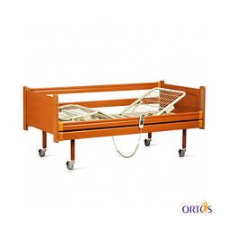 Кровать медицинская 4х-секционная с электроприводом на колесах с поручнями OSD-91E