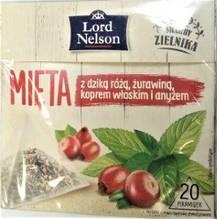 Чай в пирамидках Lord Nelson Mieta 20 шт