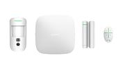 Стартовий комплект системи безпеки з фотоверифікацією тривог AJAX StarterKit Cam Ethernet, 2G, фото 1