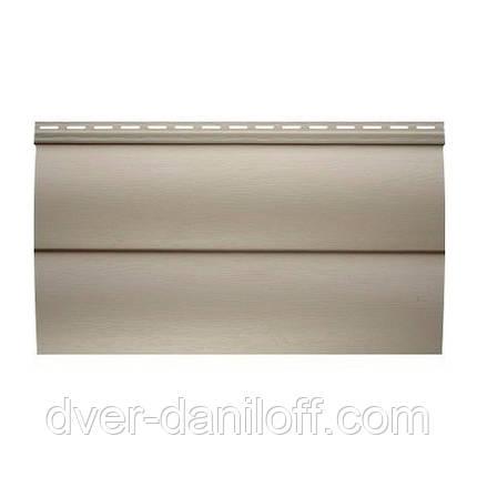 Сайдинг виниловый Альта-Профиль BlockHouse Slim двухпереломный 3660х230x11 мм оливковый, фото 2