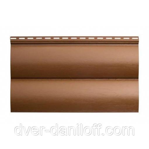 Сайдинг виниловый Альта-Профиль BlockHouse однопереломный 3100х200 мм бежевый