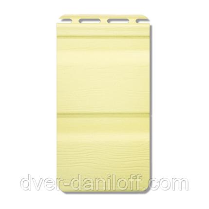 Сайдинг виниловый Альта-Профиль Flex двухпереломный 3660х230x11 мм грушевый, фото 2