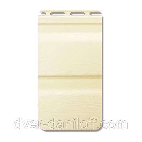Сайдинг вініловий Альта-Профіль Flex двухпереломний 3660х230х11 мм імбирний