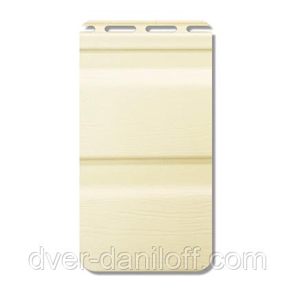 Сайдинг вініловий Альта-Профіль Flex двухпереломний 3660х230х11 мм імбирний, фото 2