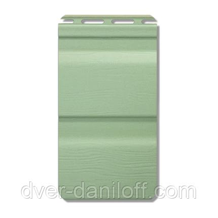 Сайдинг виниловый Альта-Профиль Flex двухпереломный 3660х230x11 мм мятный, фото 2