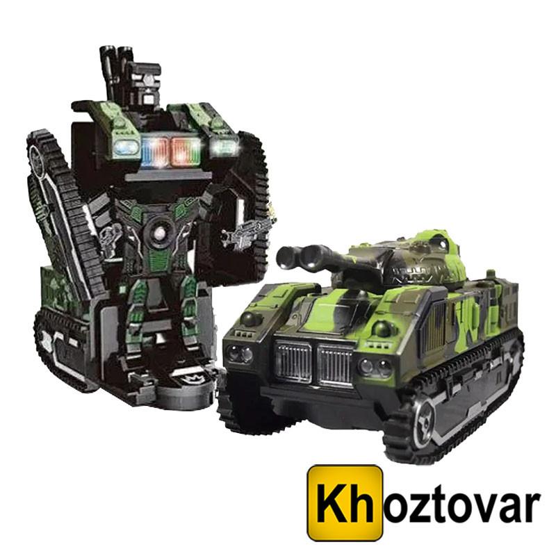 Детский танк-трансформер на радиоуправлении Tank-Chariot