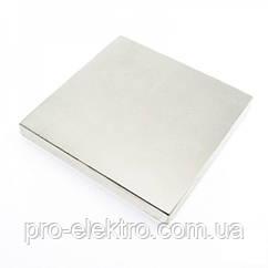 Неодимовый магнит квадрат 100х100х10 мм