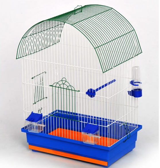 Клітка Віола для дрідних та середніх  птахів, 47*30*66 см