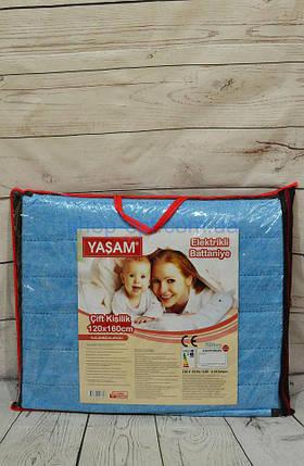 Электропростынь YASAM (Termosoft), размер 120х160 см, пр-ль Турция, фото 2