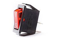 Выключатель 3 контакта (ON-OFF) красный
