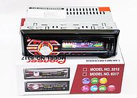 Магнитола 1DIN MP3-6317 RGB + пульт управления