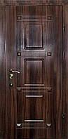 Двери входные в квартиру темный орех