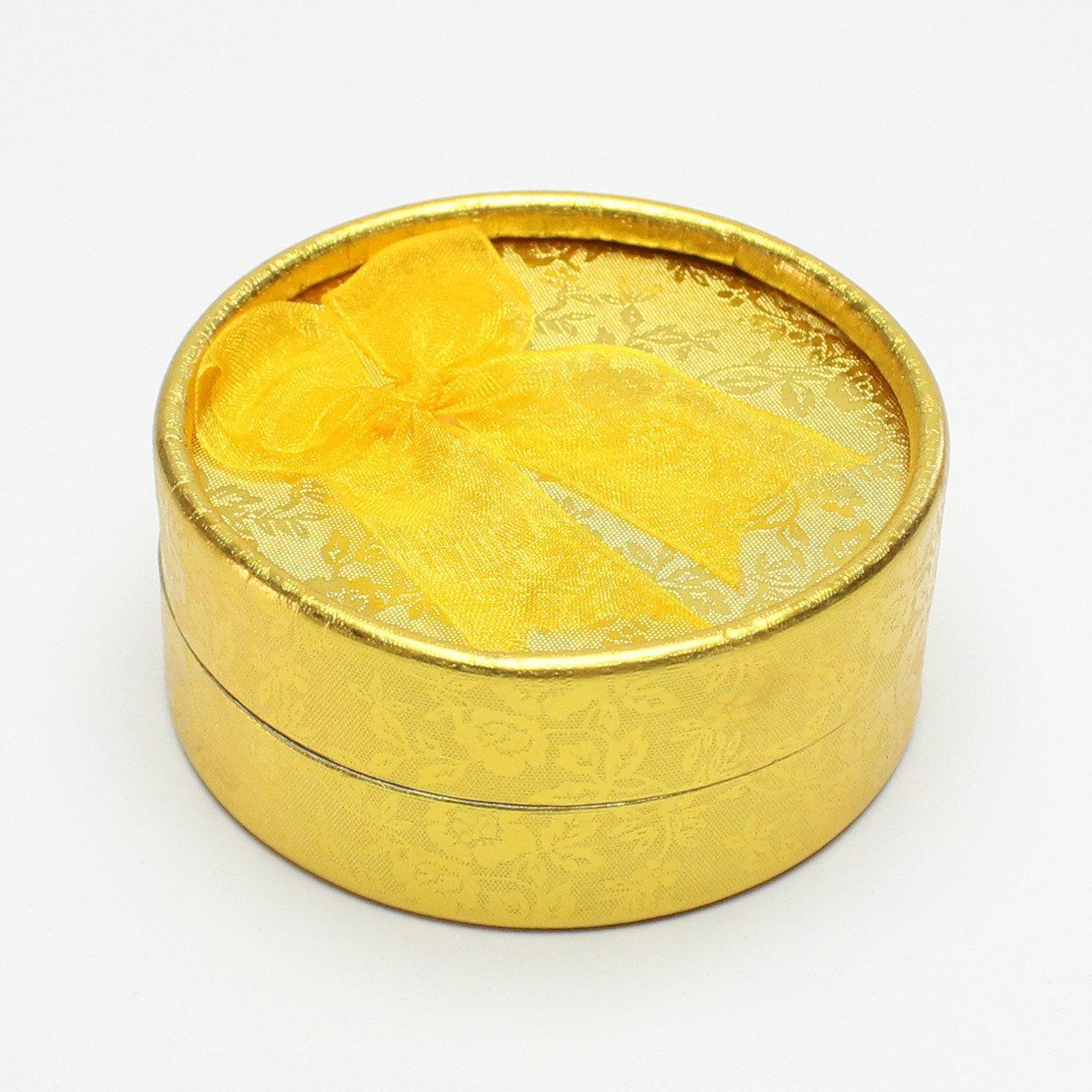 """Коробочка под набор """"Круг золото"""""""