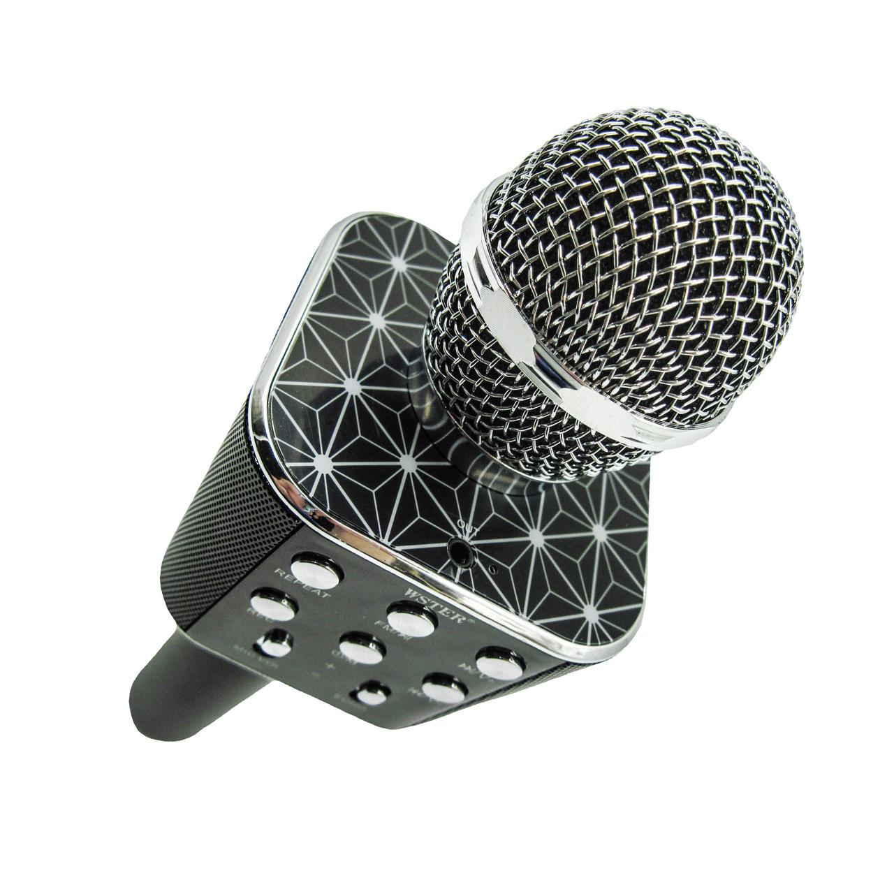 Микрофон беспроводной Wster WS-1688, black