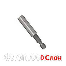 "Магнитный держатель вставок STANLEY STA61401, L= 60 мм, хвостовик 1/4"", 6.3 мм, блістер"
