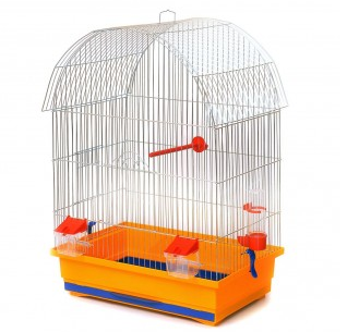 Клітка Віола цинк для дрідних та середніх  птахів, 47*30*66 см