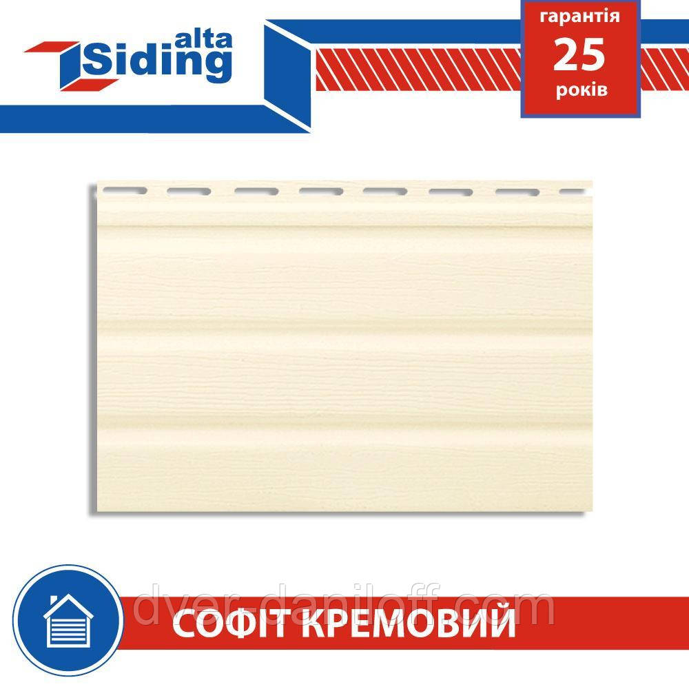 Софит,Альта-Профиль,Т-19,без,перфорации,3000х230,мм,кремовый