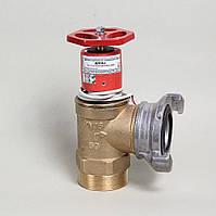 Пожарный кран ДУ-50 латунный угловой