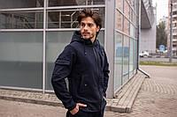 Куртка мужская Softshell X navy / ветровка весенне-осенняя ТОП качество