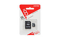 Карта памяти Smartbuy MicroSD 8GB Class 10 + SD-adapter