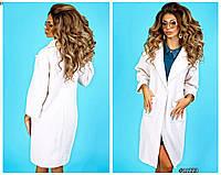 Женское пальто на одной пуговице, фото 1