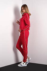 Спортивный костюм красного цвета (Код BR-SK100-03 червоний)