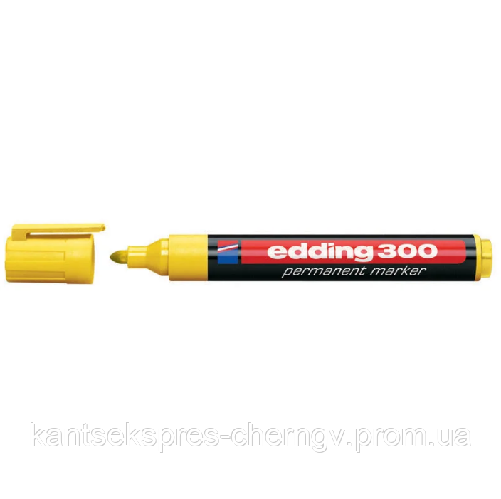 Маркер перманентный Edding 1,5-3мм e-300