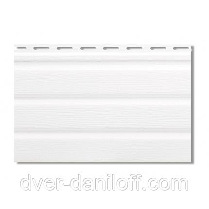 Софит,Альта-Профиль,Т-20,с,частичной,перфорацией,3000х230,мм,белый, фото 2
