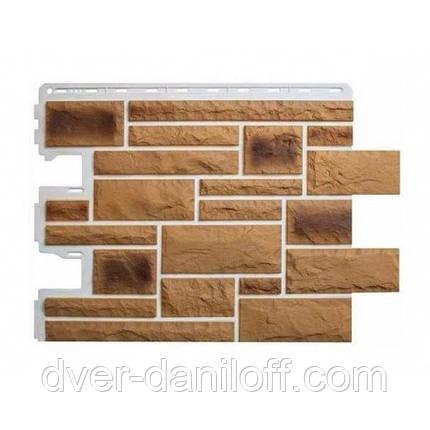 Фасадна панель Альта-Профіль Камінь Празький 795х591х20 мм колір 02, фото 2