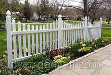 "Хвіртка для паркану ПВХ ""GARDEN"" (63,5х91,5х5 см), фото 2"