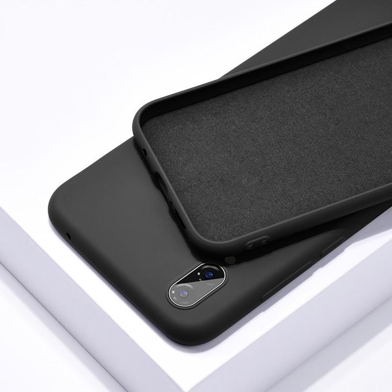 Силиконовый чехол SLIM на Xiaomi Redmi Note 8T Black
