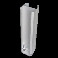 Алюмінієва кріпильна основа для стовпа 40 см