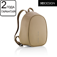 """Оригинал! Гарантия 2 года. Женский рюкзак антивор XD Design Bobby Elle 9.7"""" коричневый (P705.226)"""