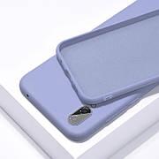 Силиконовый чехол SLIM на Xiaomi Redmi Note 8T Lilac