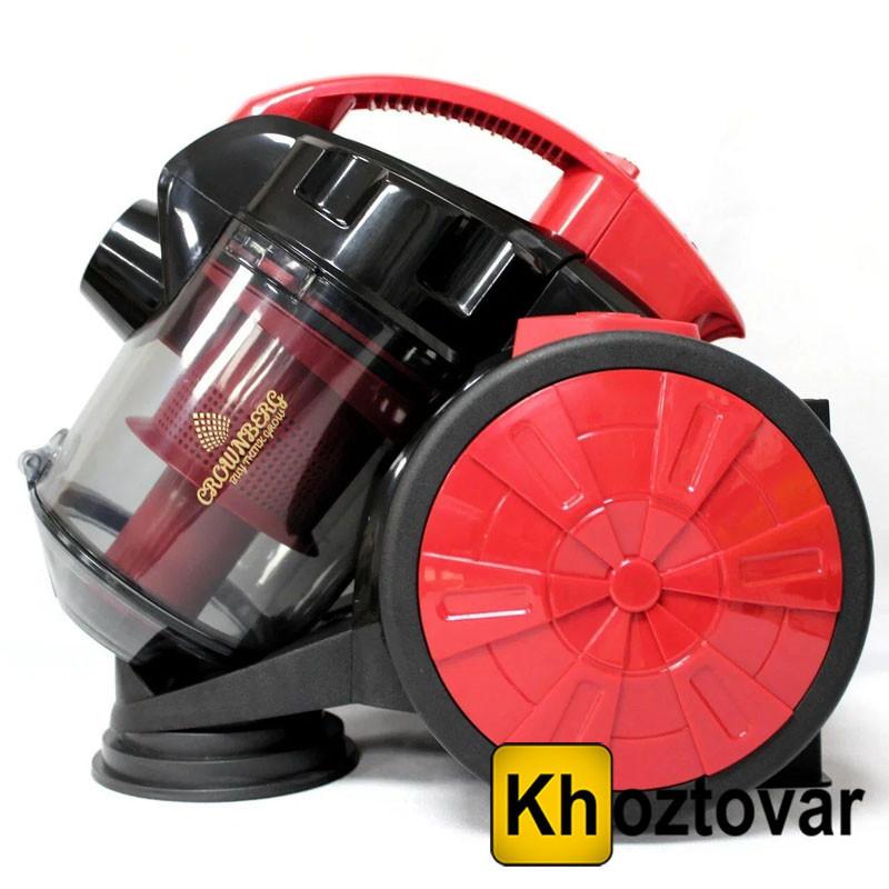 Колбовый пылесос с турбощеткой Crownberg CB-0110