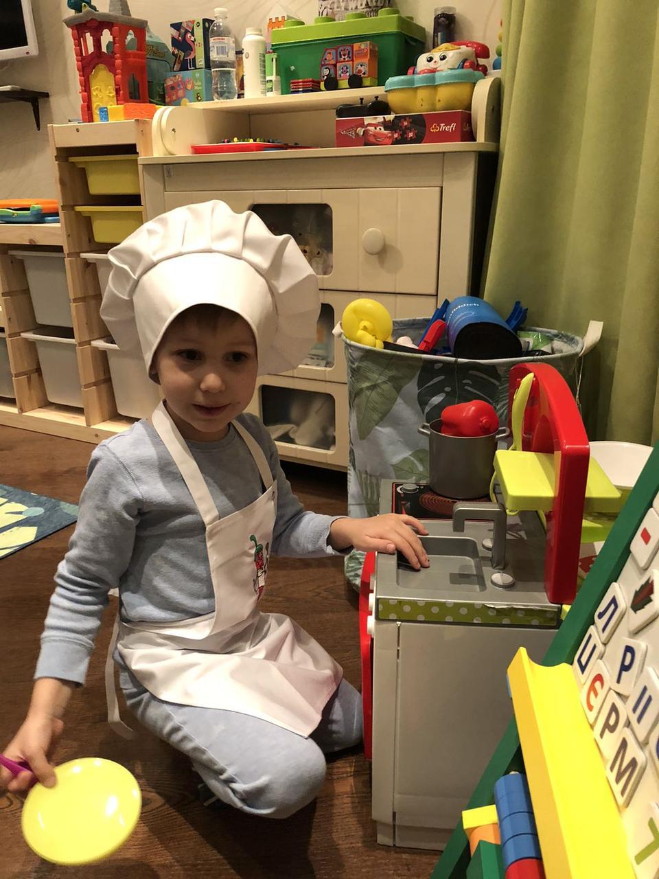 Подростает новое поколение поваров!