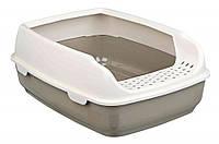 Trixie (Трикси) Delio Litter Tray Туалет с бортиком для кошек 35 × 20 × 48 см