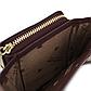 Женский Кошелек Бумажник Маленький на Молнии для Карточек Weichen (C6905-001) Бордовый, фото 7