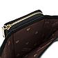 Женский Кошелек Бумажник Маленький на Молнии для Карточек Weichen (C6905-001) Черный, фото 7